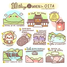10 Things To Do When in Oita