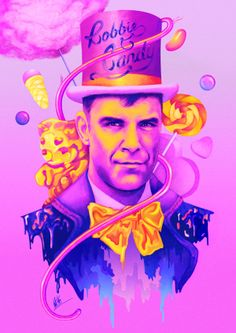 Robbie Williams by Mitchell Nelson.
