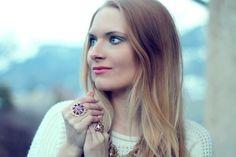 Blog Mode Lili et les bijoux Lila Rose  Bague Lila Rose  http://www.lilarosebijoux.com/