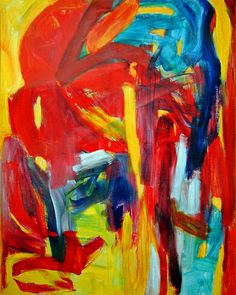 https://flic.kr/p/g3F47Y | 1993 - 'Fathers must die', abstract-expressionist painting on canvas  -  large acrylic art by Dutch artist Fons Heijnsbroek | 'Fathers must die', an acrylic large abstract-expressionist painting art on canvas I painted in 1993 in colorful strong colors as an energetic composition of landscape elements. The title and also the painting is meant as expressing a law of nature: everything must die, also the fathers and close family. Size of the original painting: size…