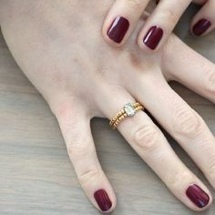 Make this easy DIY stretch ring. It will become a permanent part of your daily jewelry wear.