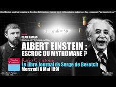 """Terre Plate: Albert """"Frank"""" Einstein... un pédéraste infâme et vous avez cru cet imposteur ? - YouTube"""