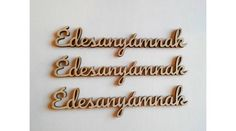 3 db írott Édesanyámnak felirat - KreatívHobbyDekor webáruház Bathroom Hooks