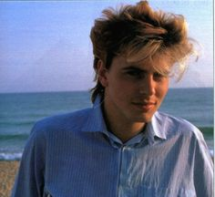 love these sun-kissed, mop-top photos of John Taylor