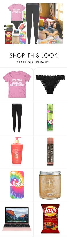 """O9:45 pm;; OOTN"" by amazing-an0ns-23 ❤ liked on Polyvore featuring Cosabella, adidas, Victoria's Secret, Burt's Bees and AMBRE"
