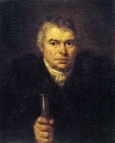 Портрет отца художника Адама Швальбе, 1804
