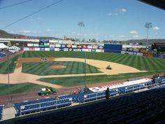 NYSEG Stadium, Binghamton, NY (pretty sweet that this is on here) Ny Mets, New York Mets, Mets Baseball, Baseball Field, College Bucket List, Minor League Baseball, Small Town Girl, Johnson City, Homesteads