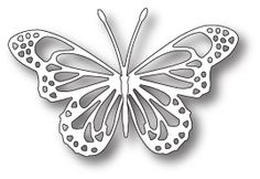 Memory Box LUNETTE BUTTERFLY Craft DIE 98745