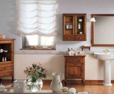rural bathroom - Lilly is Love Rural, Bathroom, Decor, Inspiration, Curtains, Home, Roman Shade Curtain, Home Decor