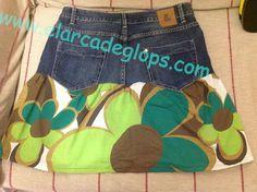 http://www.elarcadeglops.com/2013/07/falda-vaquera-reciclada.html