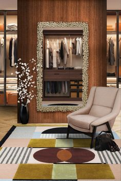 Closets are the perfect place to prepare yourself for a new day. It should be organised, not only to make your life easier in the morning but also when getting ready for a big event. Closets showcase your personality and are also a reference to a small private room, an inner sanctum within a much larger house.