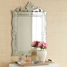 $200 Venetian Mirror... in case you want to go all out duplicating that bathroom!