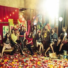 Snsd love and peace