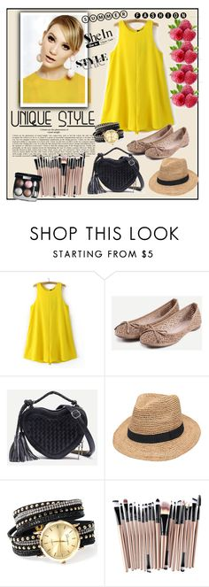 """Shein 8..VI"" by merima-p ❤ liked on Polyvore featuring WithChic, Gottex, Collections by Hayley and Chanel"