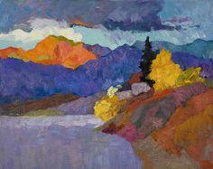 """Larisa Aukon at Mirada Fine Art, 'The Moment of Stillness,' Original Oil on Panel, 24"""" x 30"""""""