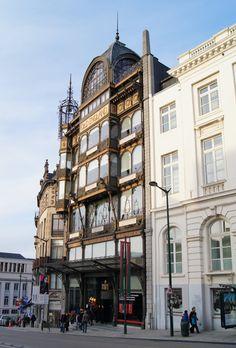 Bruxelles Musée des instruments de musique Old Paris, Brussels, Arts, Art Nouveau, Buildings, Addiction, Instruments, Street View, London