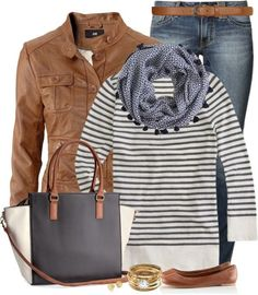 Casual and Cozy Fall Outfits Polyvore Combination 2014