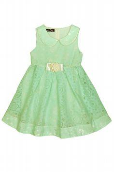 sevimli :) #green #dress