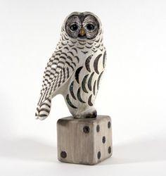 Leo Smith, folk art owl...