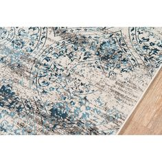 Shop the Juliet Blue/Beige Area Rug at Perigold, home to the design world's best furnishings for every style and space. Plus, enjoy free delivery on most items. Accent Rugs, Vine Design, Blue Rug, Beige Area Rugs, Vintage Inspired Design, Rugs, Printed Cotton Curtain, Area Rugs, Blue Area