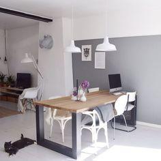 Een wit interieur oogt lekker licht! #verlichting #interieur ...