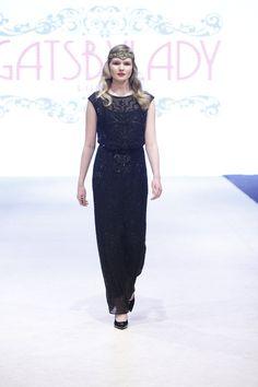 7db34c35031 Pre Order Isla Black Prom Maxi Dress Vintage by Gatsbylady