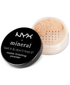 Nyx Professional Makeup Mineral Finishing Powder - LIGHT/MEDIUM