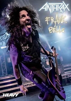 Frank Bello of Anthrax.