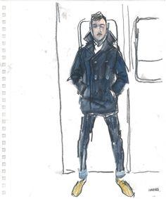 Modeconnect.com - Richard Haines Fashion Illustration