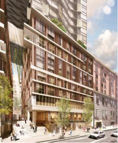 Proposal: 161 Clarence Street, Sydney by Turner Studio