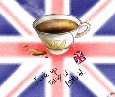 I woke up today in London! I wish!!