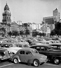 Parked on The Grand Parade Cars Parked on The Grand Parade 1960 Old Pictures, Travel Pictures, Old Photos, Travel Pics, Desert Life, Cape Town South Africa, Most Beautiful Cities, African History, Countries Of The World