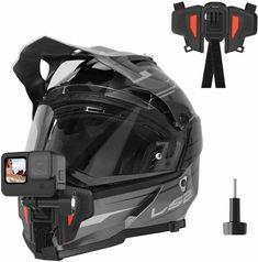 gopro helmet mount for front Chin side mount » Gopromount Dirt Bike Helmets, Motocross Helmets, Gopro Helmet Mount, Best Pov, Helmet Camera, Hockey Helmet, Full Face Helmets, Dji Osmo, Gopro Camera