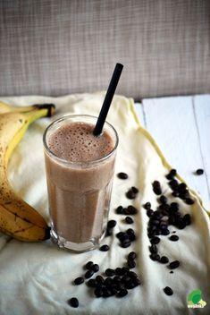 Kuchnia wegAnki: Koktajl bananowo kawowy Tableware, Dinnerware, Tablewares, Dishes, Place Settings