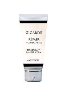 Spezielles Pflegemittel mit Allantoin, Hyaluron, Aloe Vera für stark beanspruchte, strapazierte und gerötete Hände. Intensivpflege für trockene, spröde Haut. Läßt die Hände glatt und streichelweich erscheinen.