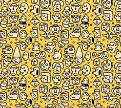 Pattern Design - Pablo Delcielo / Illustrator