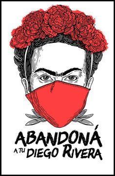 Diego Rivera, Mexican Graphic Design, Protest Posters, Riot Grrrl, Free Mind, Feminist Art, Cricut Tutorials, Power Girl, Fractal Art