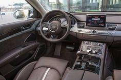 10+   Audi A8 Cokpit pictures