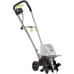 Tiller and Cultivator Outside Garden Power Equipment Green  Corded 8.5-Amp  #EARTHWISE