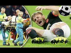 Most Horrific Double Leg Break  Injury in Male Soccer Players (18+ ONLY)
