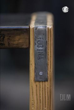 Detail #wood and #metal