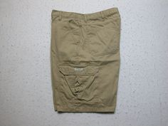 d7e88b9ee2 Wrangler Authentic Cargo Shorts Mens Sz 36 Tan Khaki Fatige Pockets EUC!!  #Wrangler