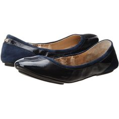 Cole Haan Avery Ballet Women's Flat Shoes, Navy ($75) ❤ liked on Polyvore featuring shoes, flats, navy, ballerina flat shoes, rubber ballet flats, ballet shoes flats, ballet shoes and cole haan flats