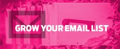 Building an email list isn't just an item to cross off on your crowdfunding checklist. List growth is more than adding names to a database. It's part of growing the community around your product, and that should happen from pre-launch, through crowdfunding, to retail and beyond. As with most aspects of bringing a product to …readmore