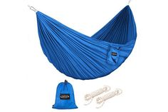 Portable Travel Camping Outdoor Sports Nylon Fabric Hang Hammock Bed Mesh Net Bright And Translucent In Appearance Tools