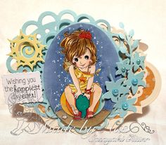 Wishing you the happiest day ever! Happy Day, I Card, Wish, About Me Blog, Crafty, Christmas Ornaments, Holiday Decor, Fun, Handmade Cards