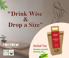 Long leaf slimming #tea from #Herbline wellness range Perfect partner for your morning exercise. 2X your weight loss effect. #healthyhabits #Herbaltea #madeinhimalayas