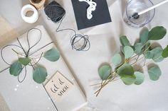 Geschenke verpacken - recycling DIY & Last Minute