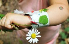 Fairy Bracelets for Kids - Nature crafts your kids will love!