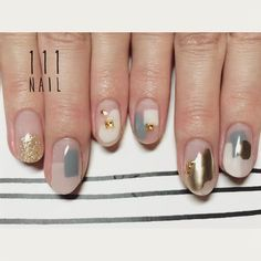 Idée Maquillage 2018 / 2019 : ˗ˏˋ ♡ @ e t h e r e a l _ ˎˊ˗ - Flashmode Belgium Korean Nail Art, Korean Nails, Minimalist Nails, Love Nails, Pretty Nails, Space Nails, Japanese Nail Art, Nagel Gel, Diy Nails